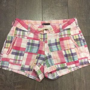 Gap Plaid Printed Short